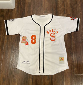 Baltimore Black Sox Negro League 1933 Authentic BASEBALL JERSEY Size XL $100