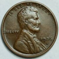 XF+ 1926 - D - US Lincoln Wheat Cent - (Q406)