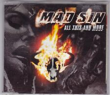 Mad sin-all this and more - 1 Track CD Single-PSYCHOBILLY