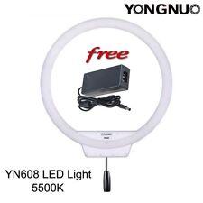 YONGNUO YN608 5500K LED Wireless Video Studio Ring Light for Selfie Makeup US