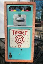 1950's Penny Arcade One Cent Skill Game-Gumball Machine Combination-Great Cond.!