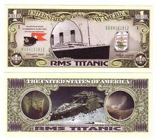 "1 MILLION DOLLARS ETATS-UNIS ""RMS TITANIC"""