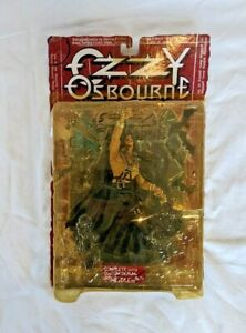 Ozzy Osbourne Figure New Sealed Mcfarlane Toys Ultra Action Figure 1999 Vintage
