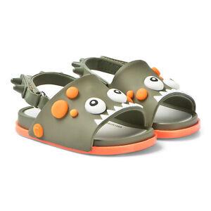 Mini Melissa Baby Sandals Beach Slides Adjustable Sandals NEW