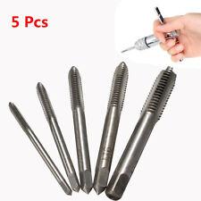 5PCS M3 M4 M5 M6 M8 HSS Drill Set Machine Hand Screw Thread Metric Plug Tap