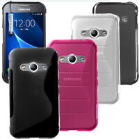 For Samsung Galaxy XCOVER 3 G388F Gel Silicone Rubber Case Cover + Touch Stylus