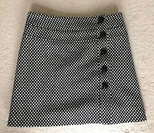 Stunning Joseph wool monochrome skirt Sz 36 UK 8