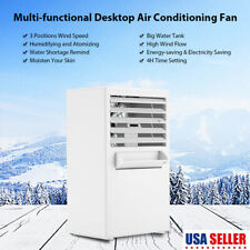 Portable Mini Air Conditioner Air Conditioning Fan Cooling Touch Control 3 Speed