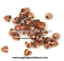 4mm Brass Coneheads - Copper