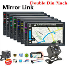 "2DIN 7"" HD Car Stereo Radio MP5 Player Bluetooth With Rear Camera Touch Screen"