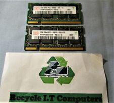 2 X 2GB HYNIX 2Rx8 PC2-5300S-555-12 667MHZ DDR2 LAPTOP MEMORY - TESTED
