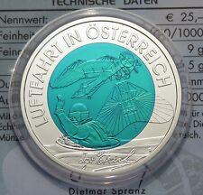 25 Euro Niob 2007 - Österreich - Österreichische Luftfahrt