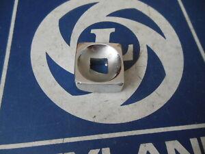 Original Lucas Square 8 Lamp Chrome Nut Triumph MG Austin Jaguar