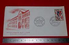 ENVELOPPE 1er JOUR PHILATELIE 1965 20e ANNIV VICTOIRE 39/45 2e GUERRE MONDIALE