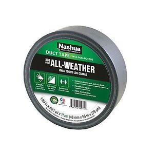 Nashua 398 Polyethylene Coated Cloth Professional Grade Duct Tape, 55 m Lengt...
