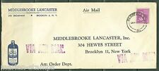UNITED STATES LEGAL SIZE COVER  FRANKED WITH 12c PRSIDENTIAL  TO  NYC