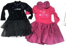 Stock Lotto 2 Vestiti abito delle feste cerimonia bambina 9/10 A dress evening