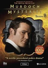 Murdoch Mysteries, Season 8 (DVD, 2015, 5-Disc Set)