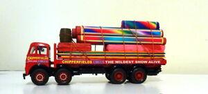 CORGI CODE 3 CHIPPERFIELDS CIRCUS FODEN 8 WHEELER RIGID BIG TOP SUPPORT