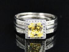 Anillos de joyería de plata de ley plata diamante