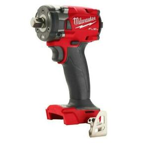 Milwaukee 2855P-20 M18 FUEL™ 1/2 Compact Impact Wrench w/ Pin Detent