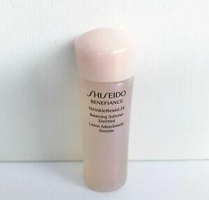 Shiseido Benefiance WrinkleResist24 Balancing Softener Enriched, 25ml, Brand New