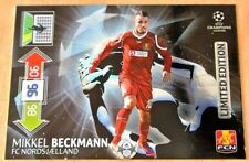 Panini Champions League 2012 13 Adrenalyn XL. Limited Edition Mikkel BECKMANN