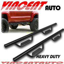"Fit 09-18 Dodge Ram 1500 Crew Cab 3"" Side Step Running Board Nerf Bar BLK B HOOP"