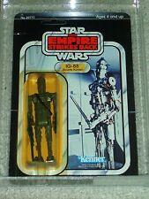 Vintage Star Wars 1980 KENNER AFA 80/85/90 IG-88 ESB CARD 32 BACK MOC UNPUNCHED!