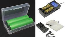 Xtar VC2 chargeur inclus 2x Sony Batterie rechargeable Konion US 18650 vtc6