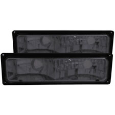 ANZO for 1988-1998 Chevrolet C1500 Euro Parking Lights Smoke - anz511034
