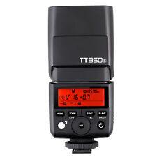 Godox Mini TT350S 2.4G TTL HSS Camera Flash Speedlite Fr Sony A7RIII A6000 A6500