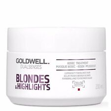 Goldwell Blonde & Highlights 60 Second Hair Treatment Restores Shine 200ml