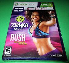 Zumba Fitness Rush Microsoft Xbox 360 *Factory Sealed! *Free Shipping!