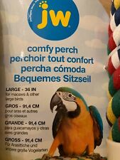 Soft Rope Bird Perch, Jw Brand, size Large -Perfect for a MaCaw or large parrot!
