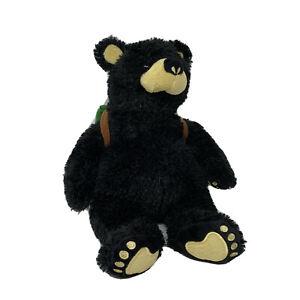 "Vintage Big Sky Carvers BEARFOOTS 12"" Travel Buddy Explorer Bear"