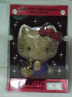 Hello Kitty 35th anniversaries DX Kira-kira Gold plush doll Sanrio 2009 Rare NEW