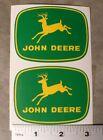 2 JOHN DEERE 4-leg, Yellow Deer DECALS, 3 inch, Tractor Computer Cut J1975