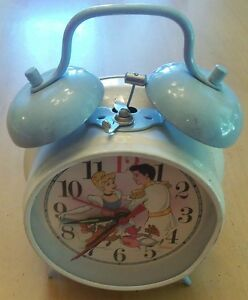 Sunbeam Disney Cinderella Alarm Clock