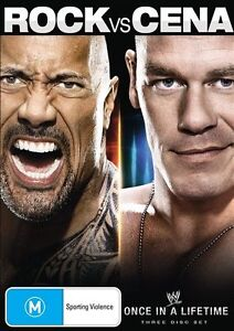 WWE - The Rock Vs. John Cena - Once In A Lifetime - New & sealed