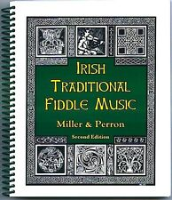 IRISH TRADITIONAL FIDDLE MUSIC by Miller & Perron, with chords, paperback
