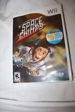 WII SPACE CHIMPS VIDEO GAME~ CHEAP!