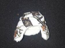 MOSSY OAK Winter Camo Outdoor Suit Men Winter Hat 1/6th scale by Magic Cube