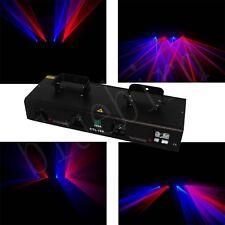 4 lens Quad 400mW Blue +400mW Red  DMX dj laser Party lights show for sale