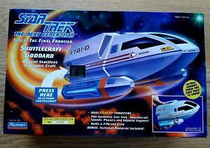 Star Trek Next Generations Shuttle Ship Goddard No. 6101