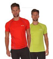 Regatta Mens Luray Lightweight Quick Drying Isovent T-Shirt Amber 2XL