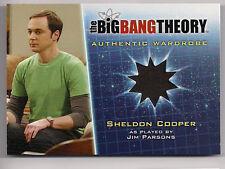 Big Bang Theory Season 5 Costume Card M8 Sheldon Cooper