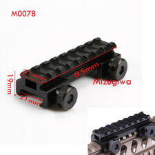 8 Slot Base Riser Adapter Picatinny Weaver Rail Scope Mount Rail For Laser Sight