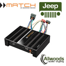 Match Amp & harness Package PP62DSP + FREE PP-AC Harness Cable Jeep