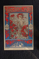 The Grateful Dead Poster 1966 Avalon Ballroom #1